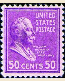 # 831 - 50¢ William H. Taft
