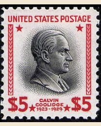 # 834 - $5 Coolidge