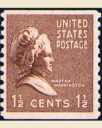 # 840 - 1 1/2¢ Martha Washington