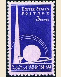 # 853 - 3¢ NY World's Fair