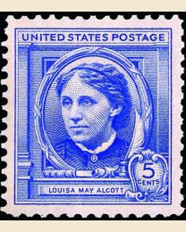# 862 - 5¢ Louisa May Alcott