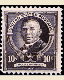# 873 - 10¢ Booker T. Washington
