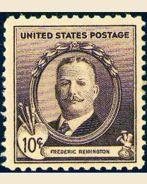 # 888 - 10¢ Frederic Remington