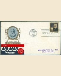 # 893 - 10¢ A.G. Bell: FDC