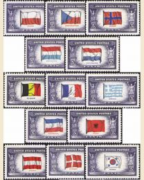 # 909S - Overrun Nations Set of 13