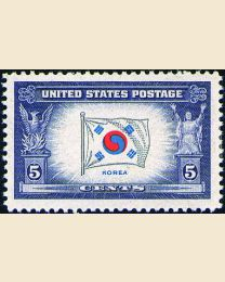 # 921 - 5¢ Korea Flag
