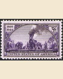 # 922 - 3¢ Transcontinental Railroad
