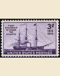# 923 - 3¢ Steamship Savannah