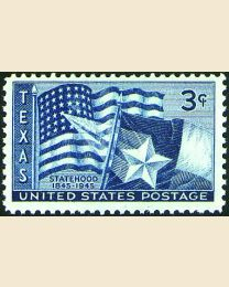 # 938 - 3¢ Texas Statehood