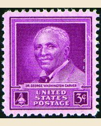 # 953 - 3¢ George Washington Carver