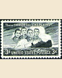 # 956 - 3¢ Four Chaplains