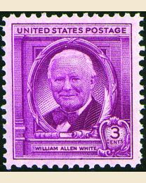 # 960 - 3¢ William A. White