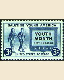 # 963 - 3¢ Youth Month
