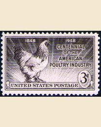 # 968 - 3¢ Poultry Industry
