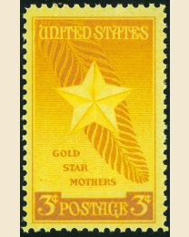# 969 - 3¢ Gold Star Mothers
