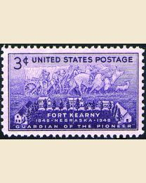 # 970 - 3¢ Fort Kearny