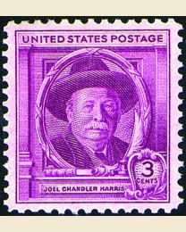 # 980 - 3¢ Joel Chandler Harris