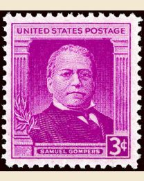 # 988 - 3¢ Samuel Gompers