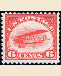 #  C1 - 6¢ Curtiss Jenny