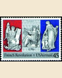 #C120 - 45¢ French Revolution