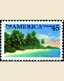 #C127 - 45¢ Tropical Coast