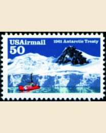 #C130 - 50¢ Antarctic Treaty