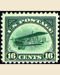 #  C2 - 16¢ Curtiss Jenny