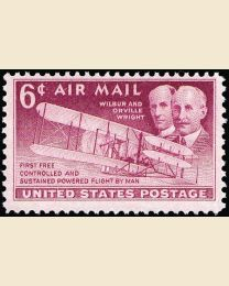 # C45 - 6¢ Wright Brothers