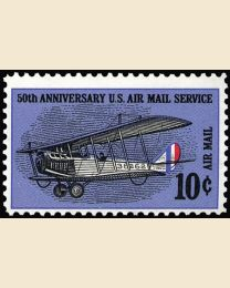 #C74 - 10¢ 50th Airmail  Anniversary