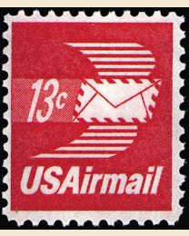 # C79 - 13¢ Winged Letter