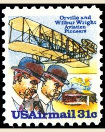 # C92 - 31¢ Wright Brothers