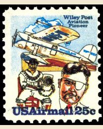 # C96 - 25¢ Wiley Post