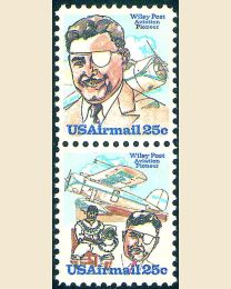 # C95S - 25¢ Wiley Post