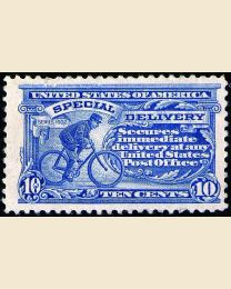 # E11 - 10¢ Messenger on Bicycle