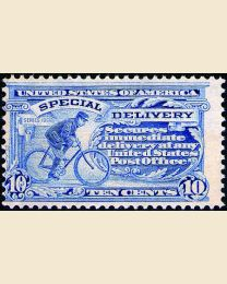 #  E8 - 10¢ Messenger on Bicycle