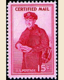 # FA1 - 15¢ Certified Mail