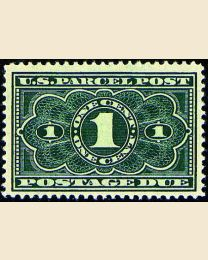 # JQ1 - 1¢ Parcel Post Postage Due