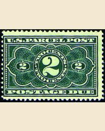 # JQ2 - 2¢ Parcel Post Postage Due