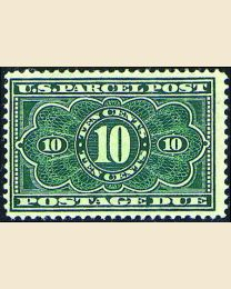 # JQ4 - 10¢ Parcel Post Postage Due