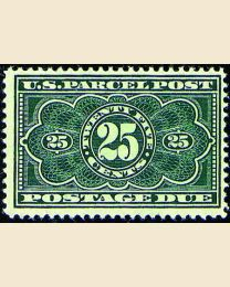 # JQ5 - 25¢ Parcel Post Postage Due