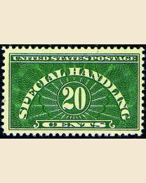 # QE3 - 20¢ Special Handling