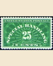 # QE4a - 25¢ Special Handling