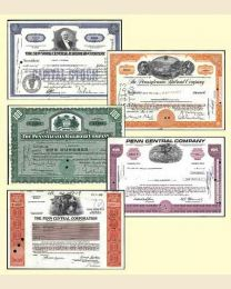 Railroad Stock Certificates