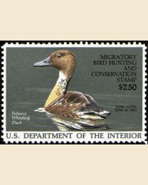 #RW53 - $7.50 Fulvous Whistling Duck