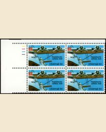 #C115 - 44¢ Trans-Pacific: Plate Block