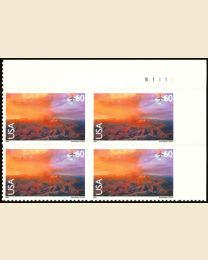 #C135 - 60¢ Grand Canyon: Plate Block