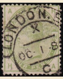 Great Britain #103 - Used, F