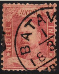 Netherlands Indies # 2 - Used, F