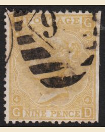 Great Britain # 52 - Used, F