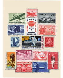 25 Mint U.S. Airmails